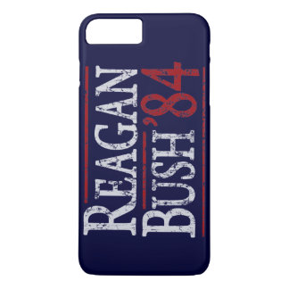 Retro Bush Reagan 84 Election iPhone 8 Plus/7 Plus Case