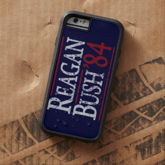 Retro Bush Reagan 84 Election Tough Xtreme iPhone 6 Case