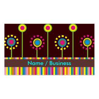 Retro Business Cards. Double-Sided Standard Business Cards (Pack Of 100)