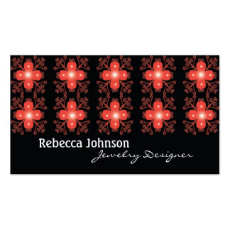 Retro business cards - Jewelry business cards
