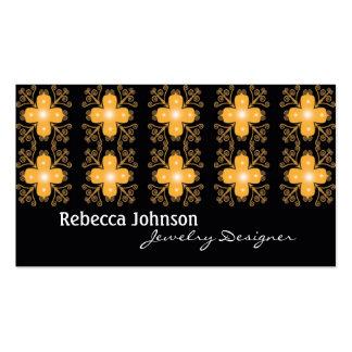 Retro business cards - Jewelry Designer