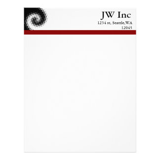Retro Business Letterheads Letterhead