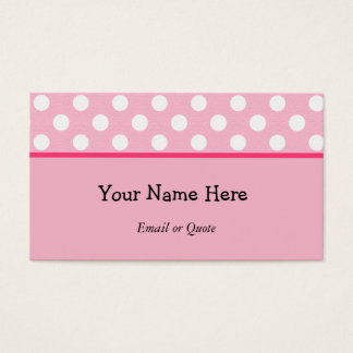 Retro Business or Profile Card