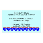 Retro Business Punch Cards business Road Signs Business Card