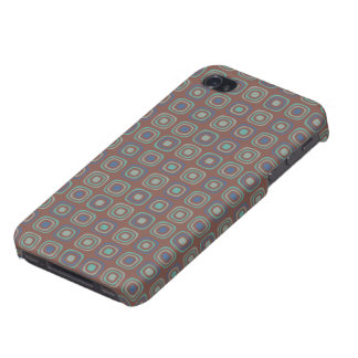 Retro business soft maroon pattern for him cover for iPhone 4