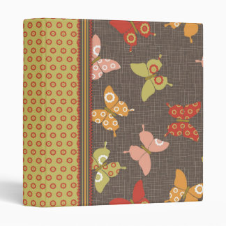 Retro Butterflies 1.0 Binder II