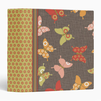 Retro Butterflies 1.5 Binder II
