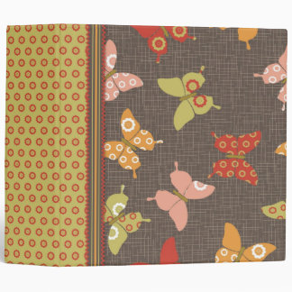 Retro Butterflies 2.0 Binder II