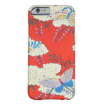 Retro Butterflies Barely There iPhone 6 Case