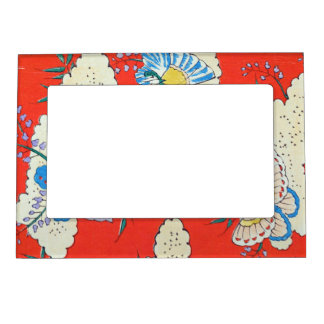 Retro Butterflies Magnetic Frame