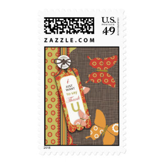 Retro Butterflies TY Stamp