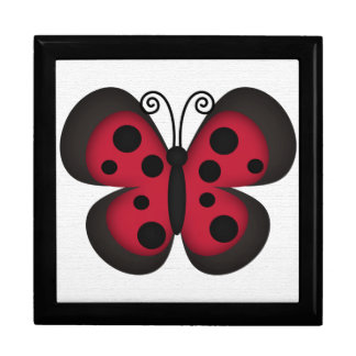 Retro Butterfly Gift Box
