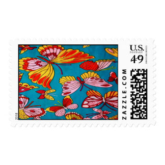 Retro Butterfly Postage