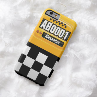 Retro Cab Taximeter Barely There iPhone 6 Case