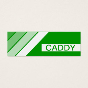Golf caddy business cards templates zazzle retro caddy mini business card colourmoves Image collections