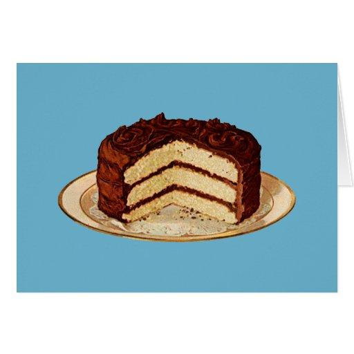 Retro Cake Cards