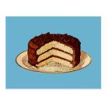 Retro Cake Postcards