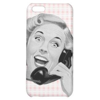 Retro Caller (B) Cover For iPhone 5C
