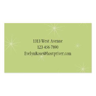 Retro Calling Card Business Card Templates
