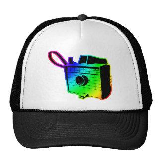 retro camera 2 trucker hat