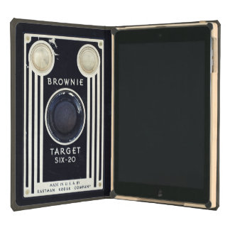 Retro camera brownie target cover for iPad air