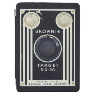 Retro camera brownie target. iPad air cover