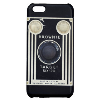 Retro camera brownie target. iPhone 5C cover