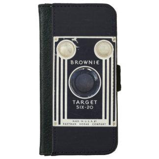 Retro camera brownie target. iPhone 6/6s wallet case