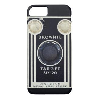 Retro camera brownie target. iPhone 7 case