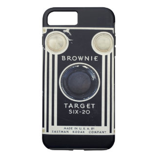 Retro camera brownie target. iPhone 7 plus case