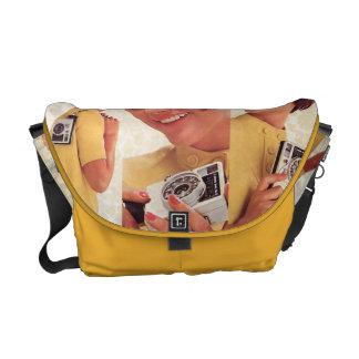 Retro Camera Catalogue Bag Messenger Bag