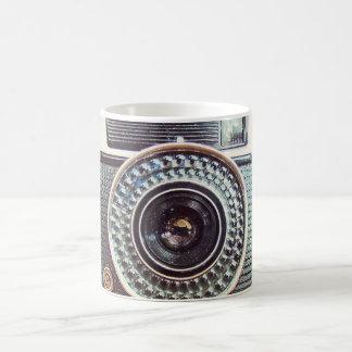 Retro camera coffee mug