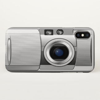 Retro Camera iPhone X Case