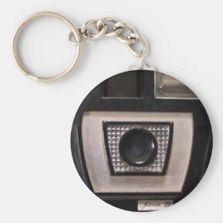 Retro camera keychain