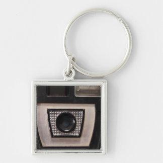 Retro camera key chain