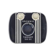 Retro camera kodak brownie target candy tins at Zazzle