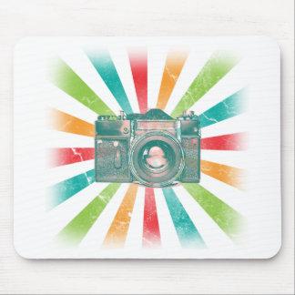 Retro Camera Mouse Pad