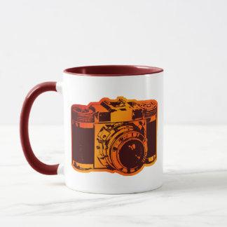 retro camera mug