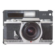 Retro Camera Scroll FX Flash Mini iPad Case at Zazzle