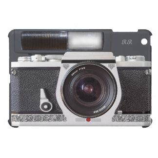 Retro Camera Scroll FX Flash Mini iPad Case
