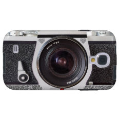 Retro Camera Scroll Fx Galaxy S4 Galaxy S4 Case at Zazzle