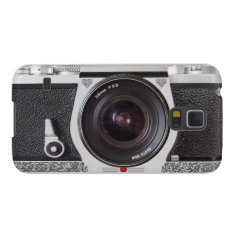 Retro Camera Scroll FX Galaxy S5 Galaxy S5 Case at Zazzle