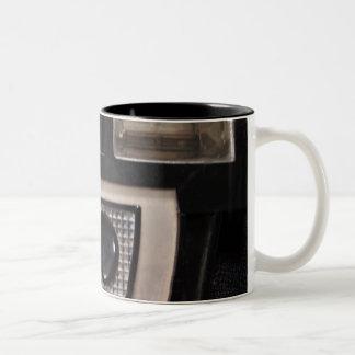 Retro camera Two-Tone coffee mug