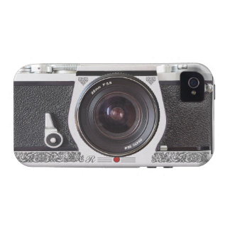 Retro Camera With Scroll Effect on iPhone 4 Vibe iPhone 4 Case
