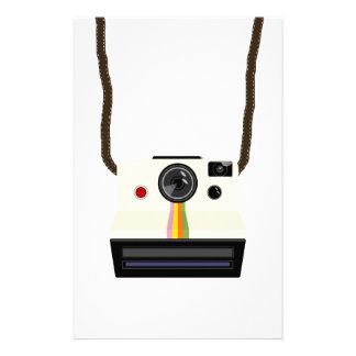 retro camera with strap stationery