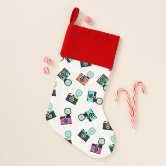 Retro Cameras Christmas Stocking