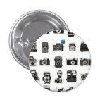 Retro cameras rule 1 inch round button