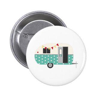 Retro Camper Button