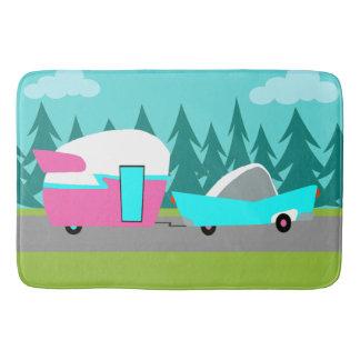 Retro Camper / Trailer and Car Bath Mat