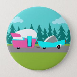 Retro Camper / Trailer and Car Button